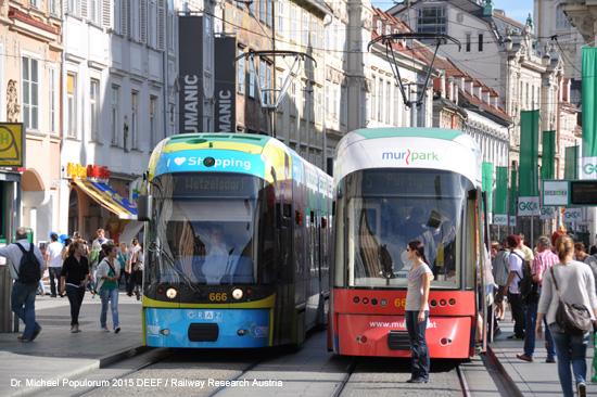 Niederflur-Straßenbahnen in Graz